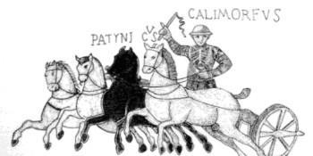 De aurigas y gladiadores